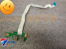 Оригинал для hp dv7-4000 dv7-4183cl dual usb совет ж кабель da0lx7tb4d0