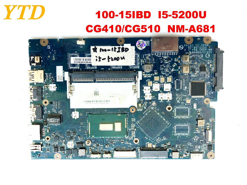 For Lenovo 100-15IBD Laptop Motherboard I5-5200U Processor CG410//CG510 NM-A681