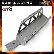 GTBRacing Alloy Frame Chassis For 1/5 rc car hpi rovan km baja 5b/5t/5sc parts