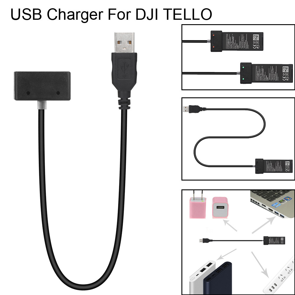 Wholesale USB Drone Battery Charger Hub RC Intelligent Fast Charging For DJI Tello Drone 20A Drop Shipping