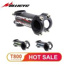 Ullicyc 6/17 Degree Carbon bike stem Mountain/Road bicycle Stem Fork Clamp Diameter 28.6mm handlebar diameter 31.8mm*60-120mm