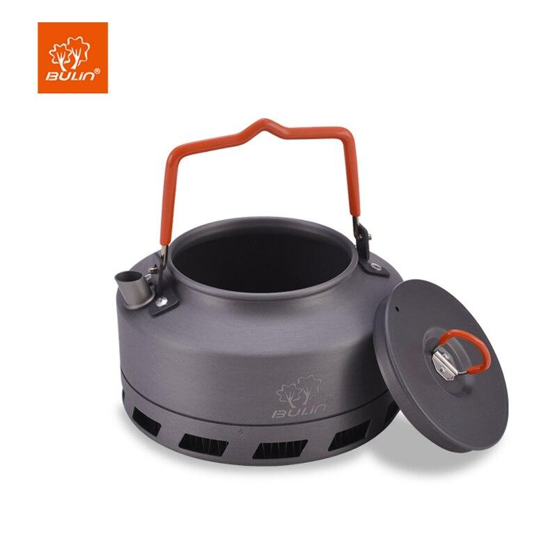 Bulin Échangeur de Chaleur Bouilloire Camping Tea Pot Extérieur Bouilloire 1.6L BL200-L2