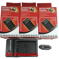 DMW BLH7 BLH7E Lithium Batteries Charger DMWBLH7 Digital Camera Battery Charger Seat For Panasonic Lumix DMC