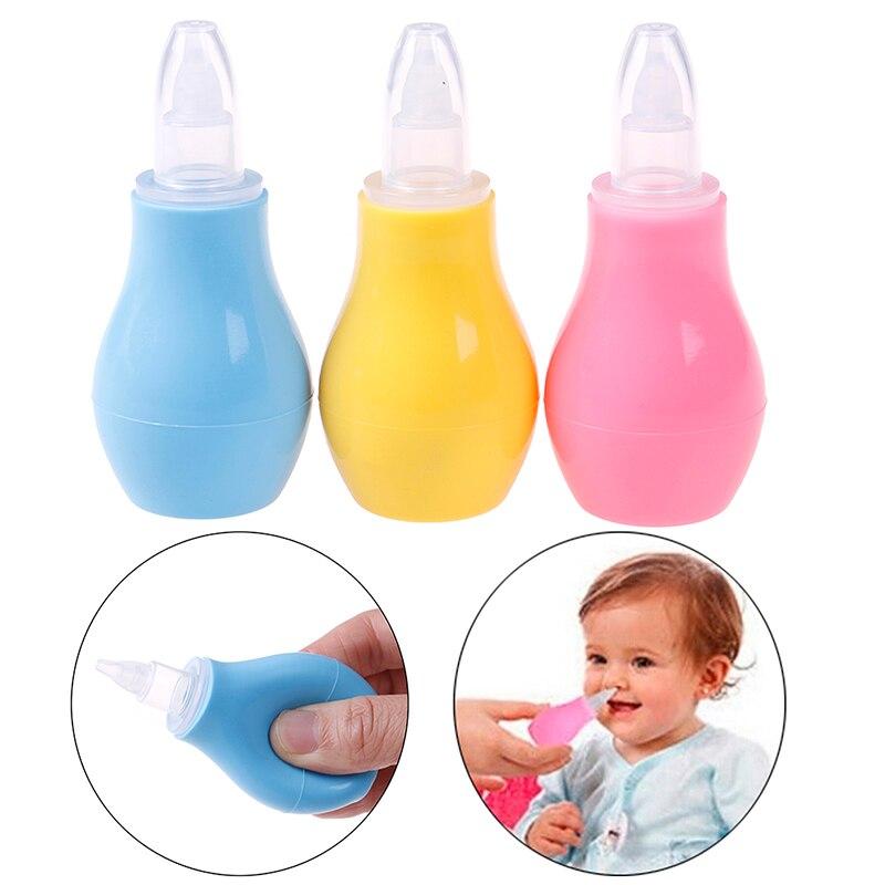 1Pc Newborn Baby Silicone Nasal Aspirator Infant Snot Suction Nose Aspirators