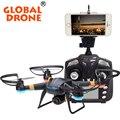 Original gw007-1 global drone 4ch girocompás de radio rc drones 3d Dron rc Drones Con Cámara Profesional FPV quadcopter VS SYAM X5C-1