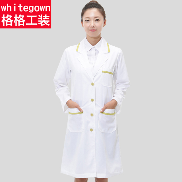 Aliexpress.com : Buy Work wear clothing Doctor White coat Lab coat ...