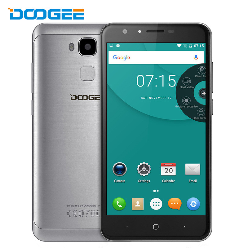 Doogee Y6 4G LTE Smartphone 3200mah 5 5 inch HD Android 6 0 Octa core MTK6750