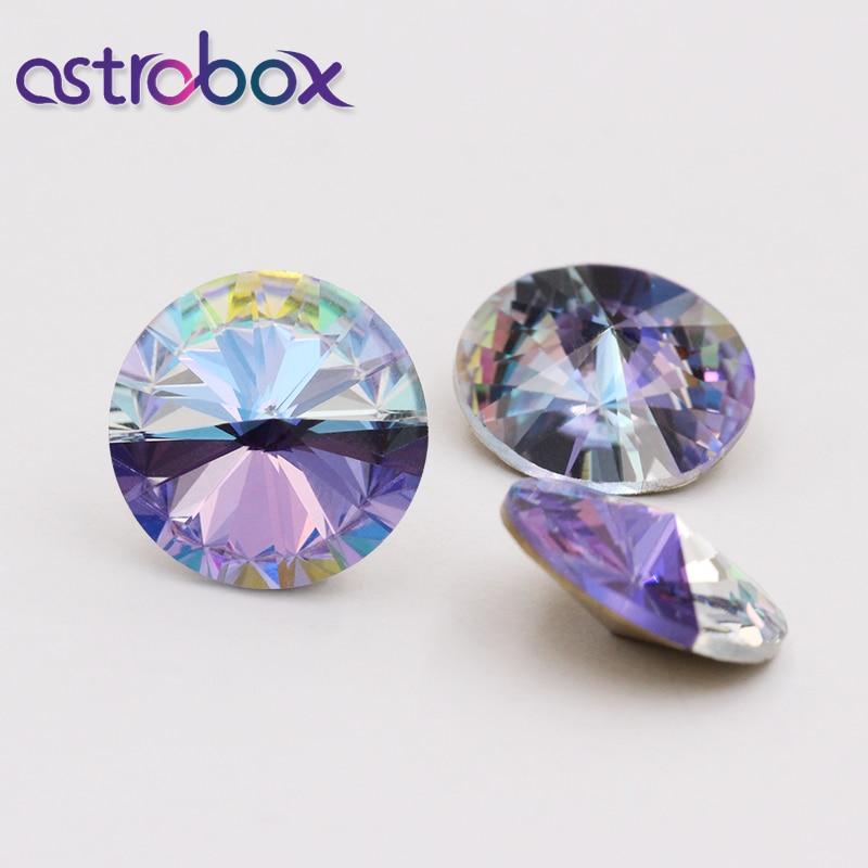 Garment accessories applique Crystal Stone Glass glue rhinestones for clothes decoration stones strass hotfix 12mm rivoli shape