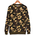 Cotton Military Hoodie for Men Plus Size XXS-4XL khaki Camouflage male Sweatshirt O-neck