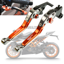 For KTM 990 Adventure 2009 CNC Aluminum Motorbike Accessories Motorcycle Brake Clutch Levers Foldable Extendable Adjustable with logo motorcycle cnc motorcycle adjustable foldable extendable brake clutch levers for ktm 1050 adventure 2015