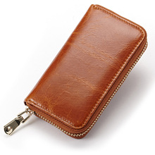 Wearresisting Retro Cow Genuine Leather Multifunction Car Key Bag Business Case Housekeeper Automobile Remote Controller Package