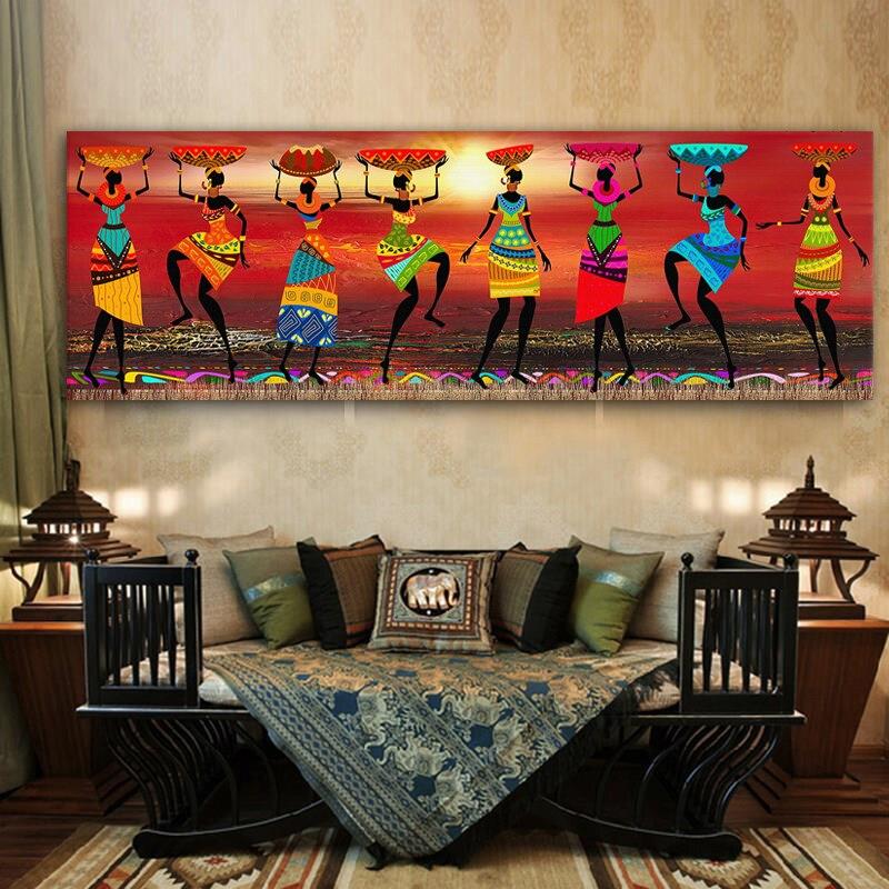 African Art Paintings Women