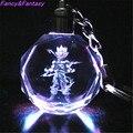 Lujo y Fantasía Ilumina Dragon Ball Super Saiyan Crystal Llavero Llavero Kame-sen 'Nin Goku Vegeta Trunks Buu LED Colgante