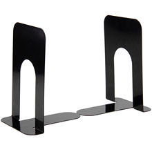 4 Pairs 8 Cheap Durable Heavy Duty Metal Book End Shelf Bookend Holder Office School Supplies Stationery Student Good Helper