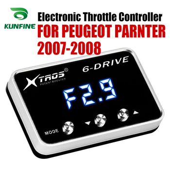Car Electronic Throttle Controller Racing Accelerator Potent Booster For PEUGEOT PARNTER 2007-2008  Tuning Parts Accessory