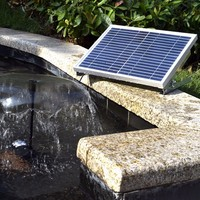 Small Solar Fountain Pump MKBSV SP100 Yard Garden Landscape Pond Fish Pond Water Cycle Free Shipping