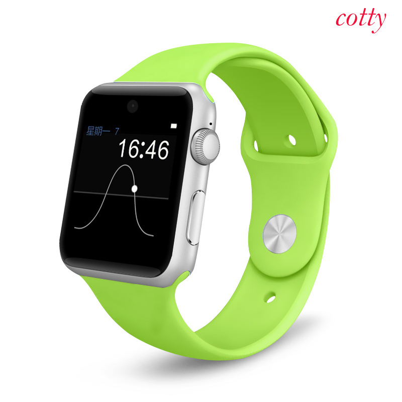 Smart watch A8 Touch Clocks Bluetooth font b Smartwatch b font With Camera Sport Style Pedometer