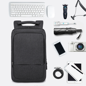 "Image 2 - KAKA Casual Men Backpack USB Charge Large Capacity Travel bag 15.6"" Laptop Backpack schoolbag for teens mochila women back pack"