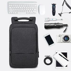 "Image 2 - KAKA 캐주얼 남성 배낭 USB 충전 대용량 여행 가방 15.6 ""노트북 백팩 schoolbag for teens mochila women back pack"