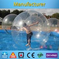 ТПУ раздувной Гуляя воды мяч для детей и взрослых (Пособия по немецкому языку бренд tizip молнии)