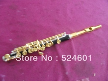 Manufacturers wholesale Bakelite tube gold to build a very nice gift Piccolo C Flute musical instrument