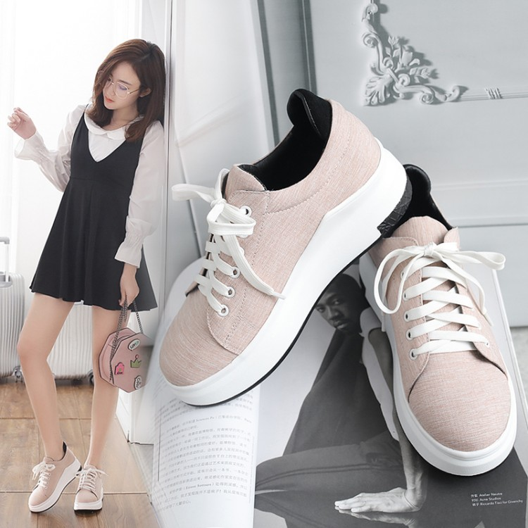 Spring small code 31 thick bottom 32 single shoes 33 round head with large size sports casual shoes  student shoes Spring small code 31 thick bottom 32 single shoes 33 round head with large size sports casual shoes  student shoes
