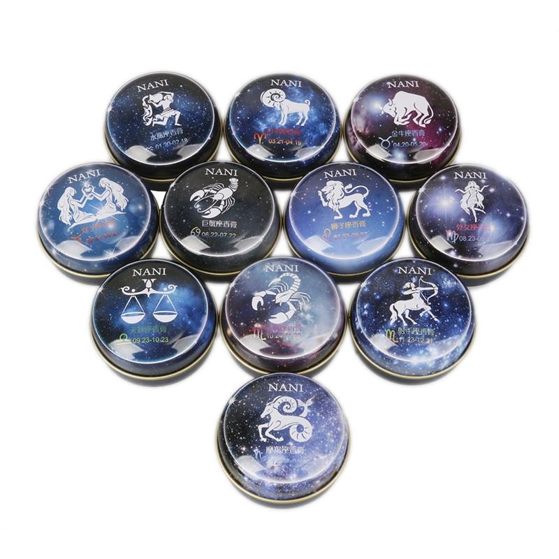 30Pcs Wholesale Perfume Antiperspirant For Women Underarms Constellation Solid Perfume Original Fragrance Lady Cosmetics