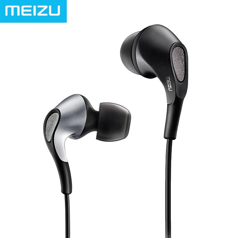 Original Meizu Flow 3-Driver Hybrid Earphones meizu flow silver