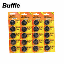 Nova Buffle 20 Pcs 3 V Bateria De Lítio CR2430 DL2430 BR2430 ECR2430 Assista Baterias
