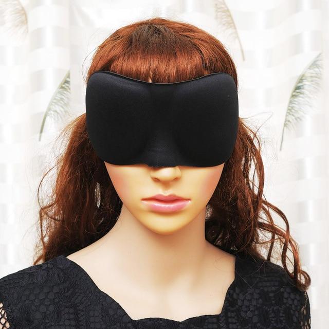 3D Sleeping eye mask Travel Rest Aid Eye Mask Cover Paded Soft Sleeping Mask Blindfold Eye Relax Massager Sleep Rest Relax 4