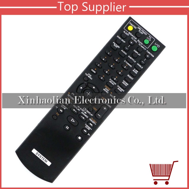 Replalced Remote Control for Sony RM-ADU009 DAV-DZ265K DAV-DZ266K DAV-DZ270K DAV-DZ570K Audio/Video AV DVD Home Theater
