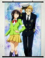 Home Decor Japan Anime Painting Wall Poster Scroll Kaichou Wa Maid Sama Cosplay