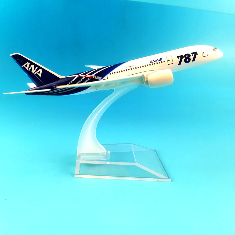 Image 5 - FREE SHIPPING 16CM  BOEING 787 ANA  METAL ALLOY MODEL PLANE AIRCRAFT MODEL  TOY AIRPLANE BIRTHDAY GIFT-in Diecasts & Toy Vehicles from Toys & Hobbies