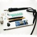 Kits de Controlador de Temperatura Digital Estación de Soldadura de Hierro para HAKKO T12 Mango DIY kits controlador (interruptor de vibración + LED + la perilla)