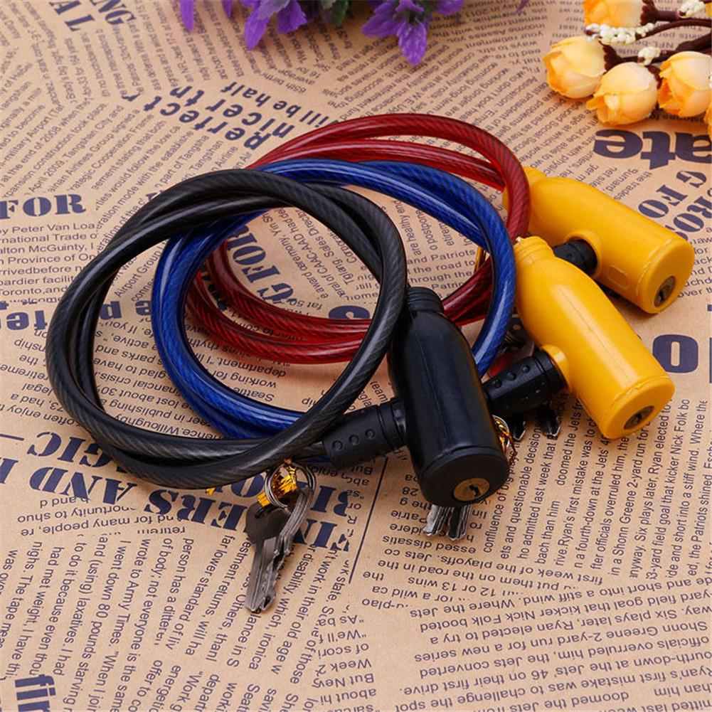 Cycling Bicycle Cable Lock Bike Part Cable Anti-Theft Bike Bicycle Scooter Security Lock Safety Lock Bicycle Accessories