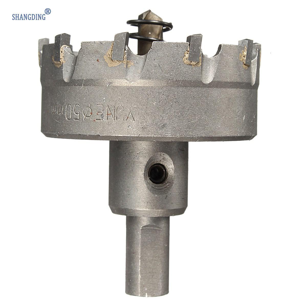 1 Set 48mm Carbide Tip TCT Boor Metalen Gatenzaag met Spanner - Boor - Foto 4