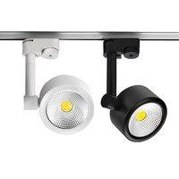Thrisdar 10W 15W COB LED Track Light Modern Rail Track LED Spotlight Clothing Shoes Store Shop Windows LED Spotlight Lamp