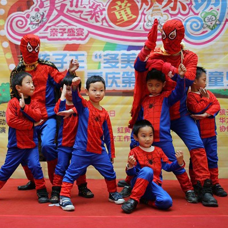 3 styles kids baby superhero spider man superman batman spiderman cosplay carnival halloween costume child accessories for kids 19