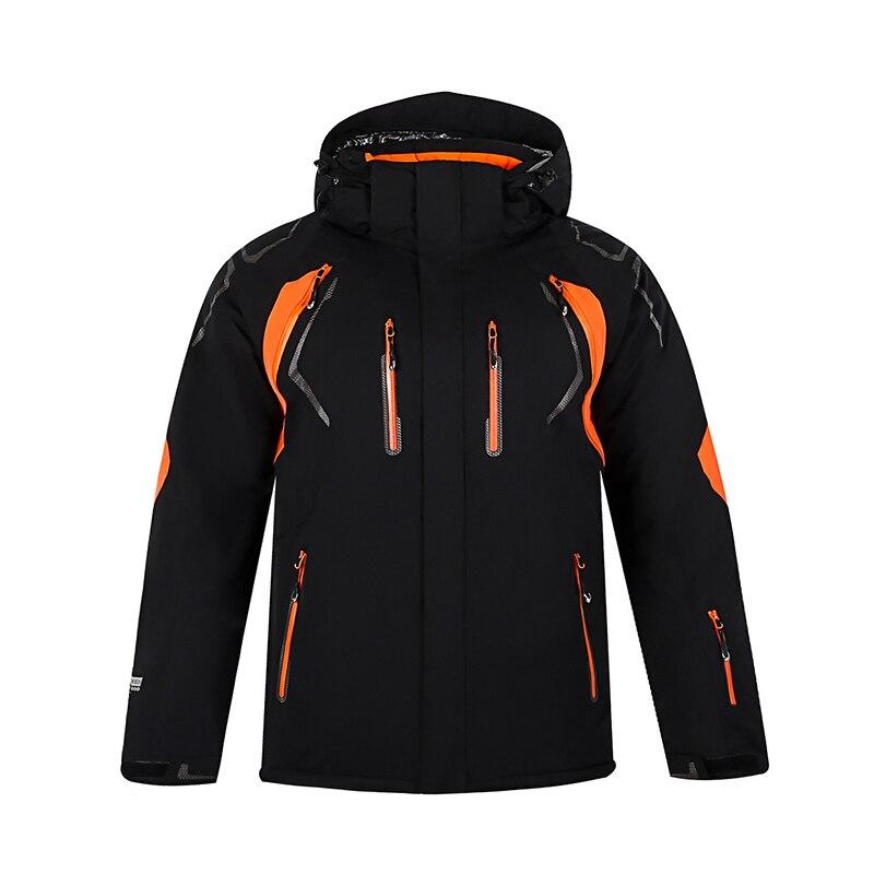 Hiver nouveau 2018 hommes et femmes simple et double planche ski costume coupe-vent imperméable manteau chaud extérieur alpinisme sportswear - 4