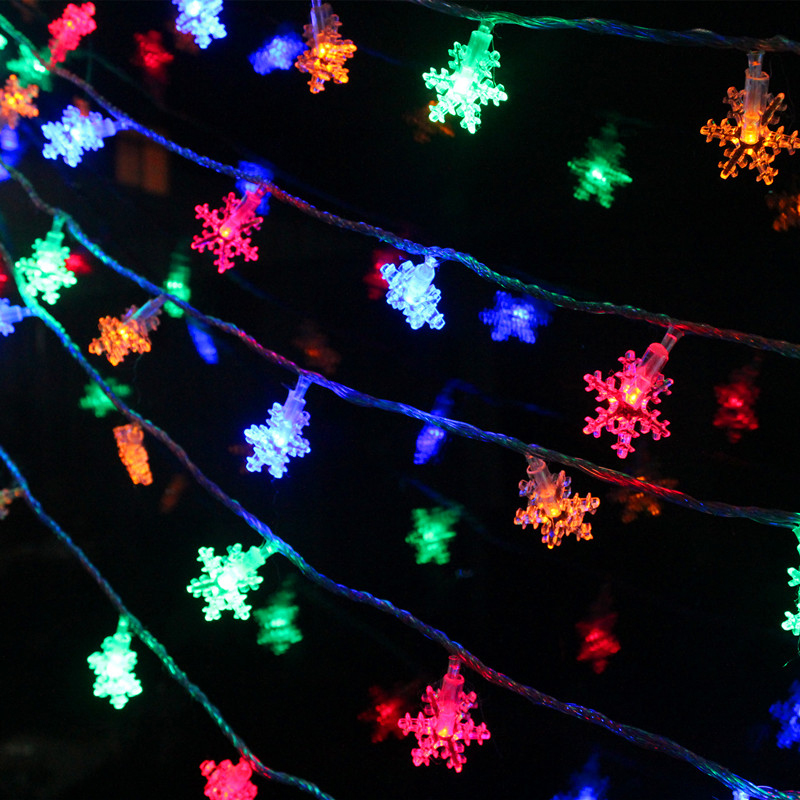 2 colors acrylic snowflake led light decoration for home waterproof 2 colors acrylic snowflake led light decoration for home waterproof string lights outdoor xmas lighting strings wedding decor in party diy decorations from workwithnaturefo