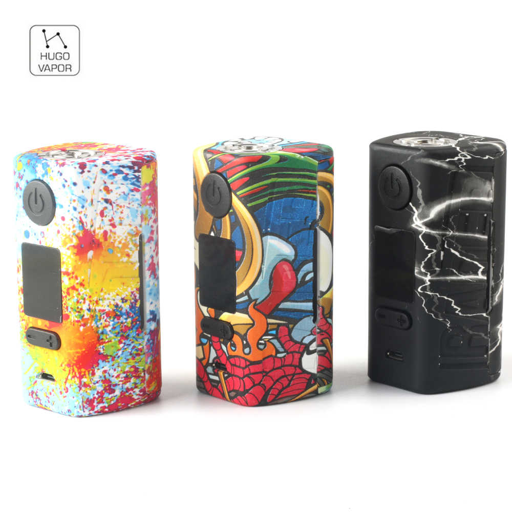 Original Hugo Vapor Rader Mage TC Box MOD 218W  Mod Supports VW/TC/Curve/Preheat & 2A Quick Charge Vape E-Cigarette Vapor Mod