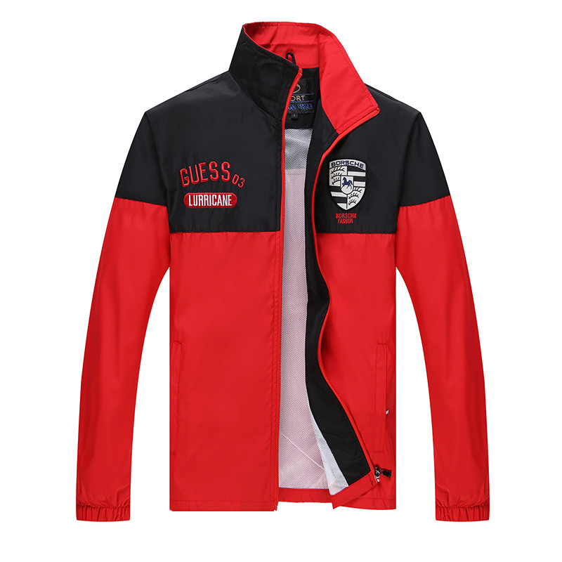 New Arrival Marka Dres Casual Sporta Kostiumu Mężczyźni Mody Bluzy Zestaw Kurtka + Spodnie 2 SZTUK Poliester Sportowej Mężczyzn 4XL 5XL SP019 13