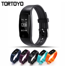 S1 Bluetooth Sensible Band Wristband Coronary heart Fee Monitor IP67 Waterproof Health Smartband Bracelet Watch For iPhone Xiaomi Android