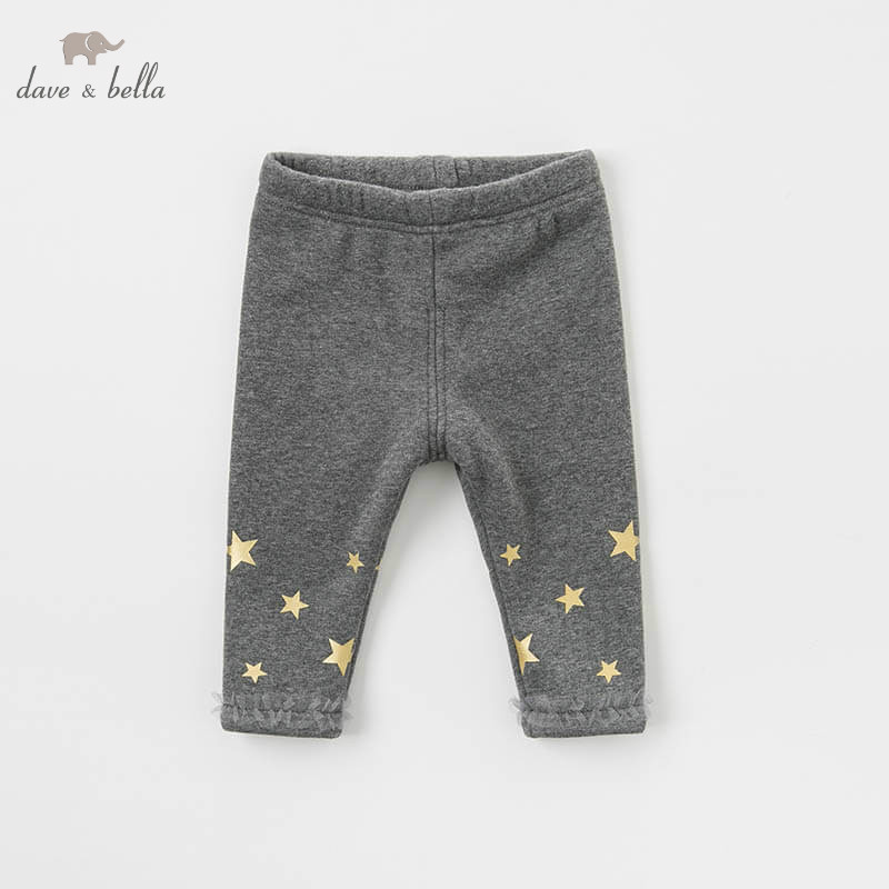 DB8520 dave bella autumn baby girls fashion printed pants children full length kids pants infant toddler trousers dba7845 dave bella autumn baby boys fashion jeans children full length kids denim pants infant toddler trousers
