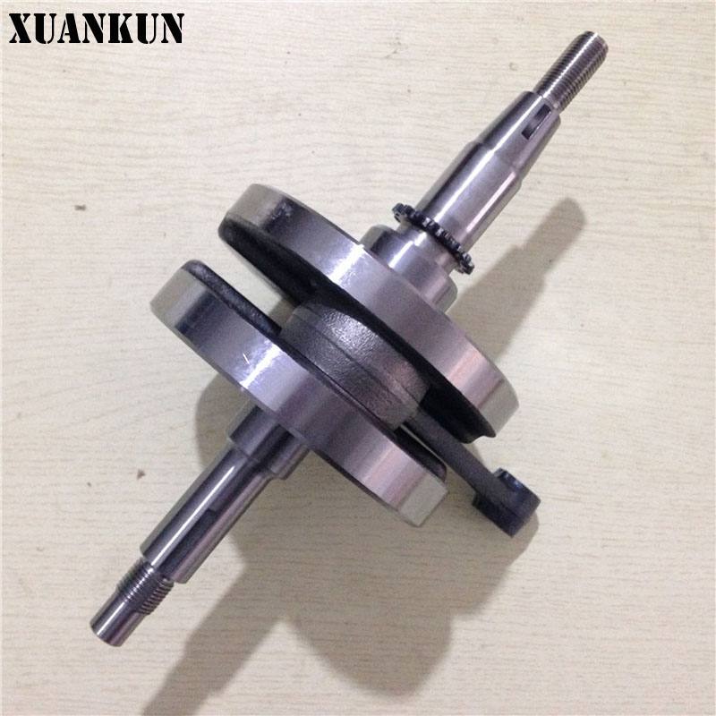 XUANKUN GT125 QS125-5 QS125-5C Crankshaft Bearing Connecting Rod Assembly xuankun 150 qs150t 3 scooter crankshaft connecting rod crankshaft bearing crank