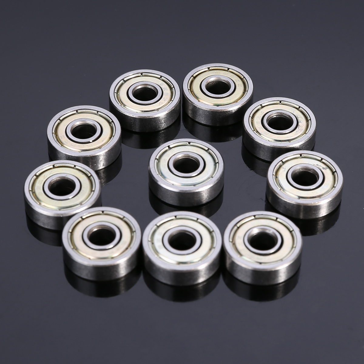 10pcs New Small Wear 625ZZ Ball Bearings Mayitr Carbon Steel Single Row Miniature Deep Groove Radial Ball Bearing 5*16*5mm pp bedtime for baby dwf acct