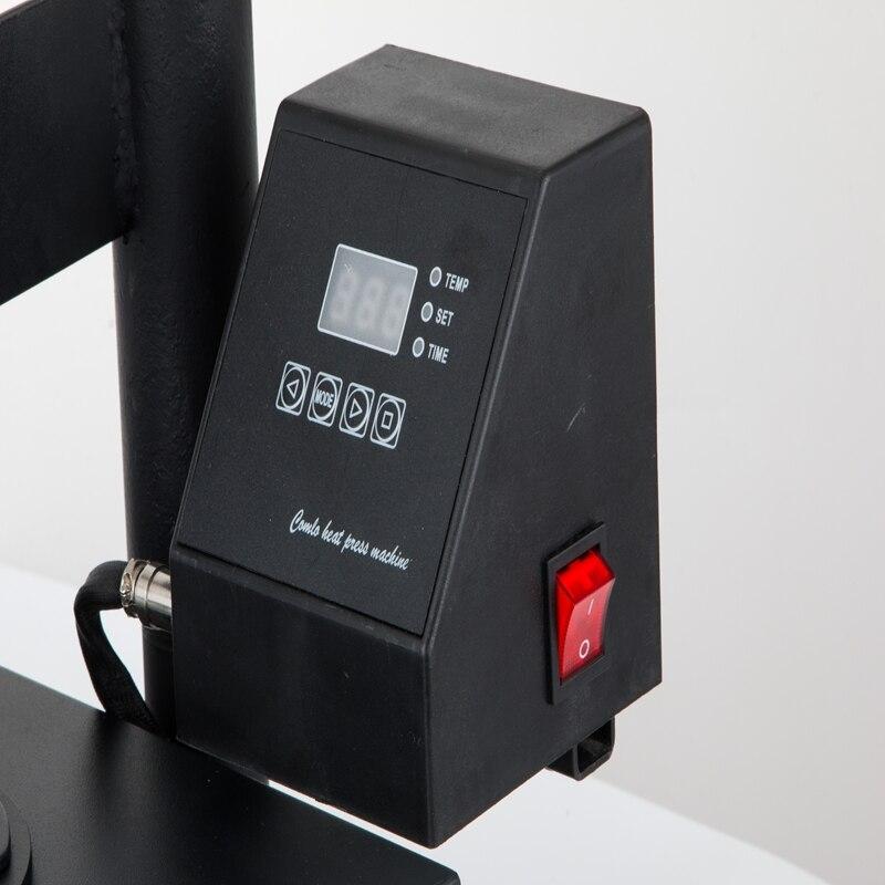 "12"" X 10"" Swing Away Heat Press Machine T-shirt Sublimation Transfer 30 X 25cm Heat Press Machine T-Shirt Digital Transfer"