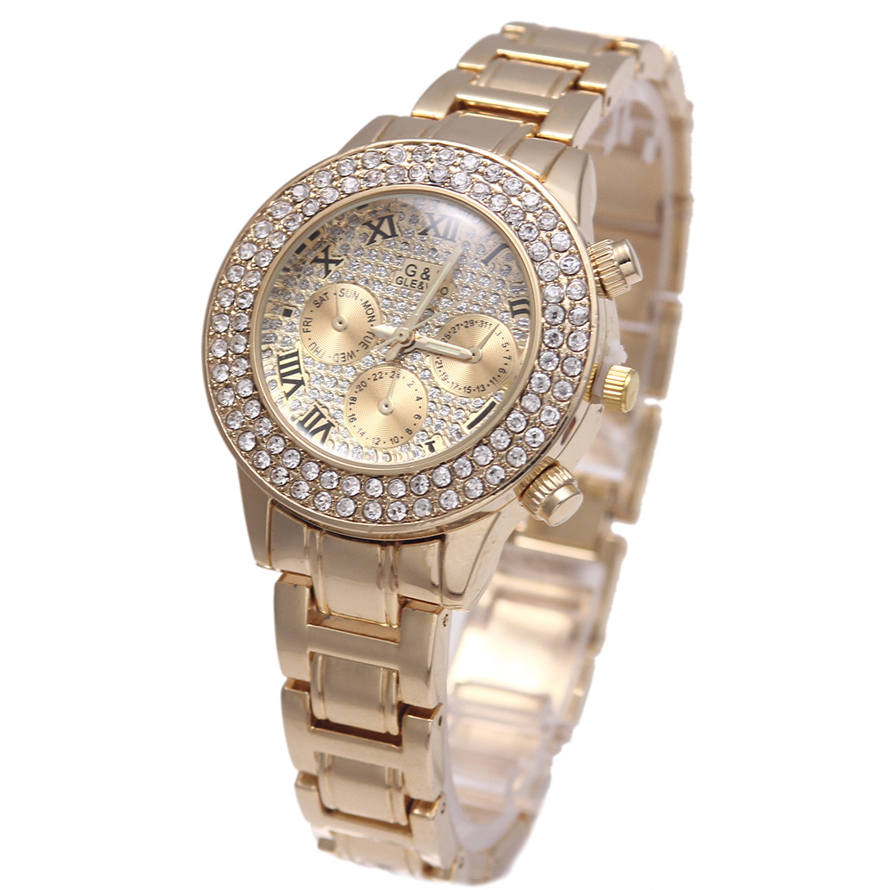 7e2dce260e00 Relogio feminino G   D oro mujeres relojes de cuarzo Acero inoxidable  relojes mujer reloj de lujo reloj Erkek Kol saati regalos