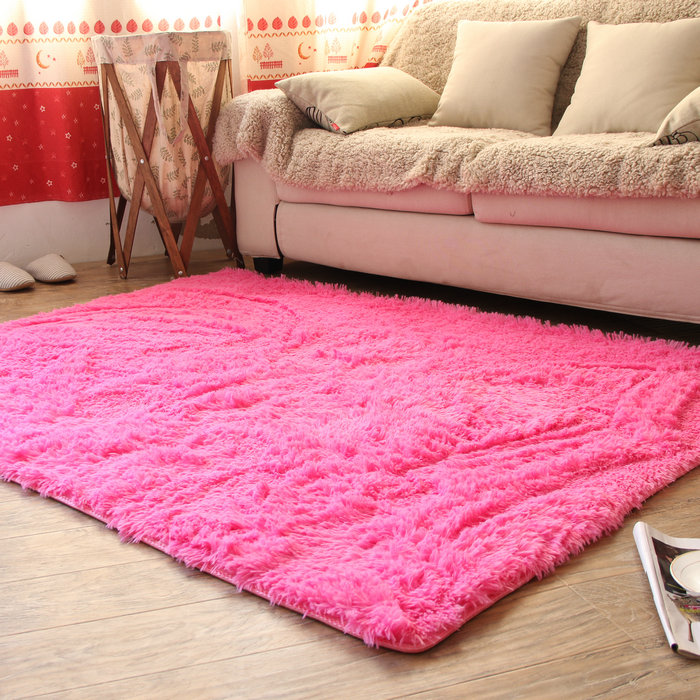 washable bedroom rugs plain cm amazon dp uk machine pink kitchen co slip home large new shaggy mats non x small soft