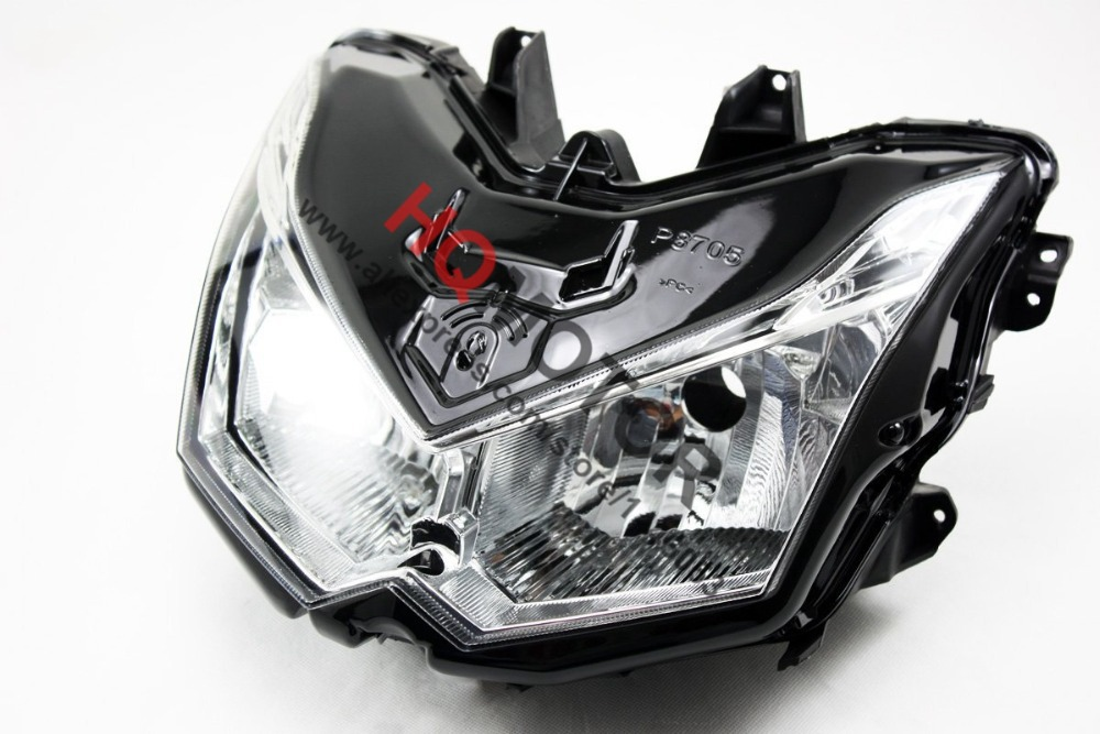 Headlight Assembly Headlamp For Kawasaki Z1000 Z 1000 2010 2011 2012 2013 right combination headlight assembly for lifan s4121200